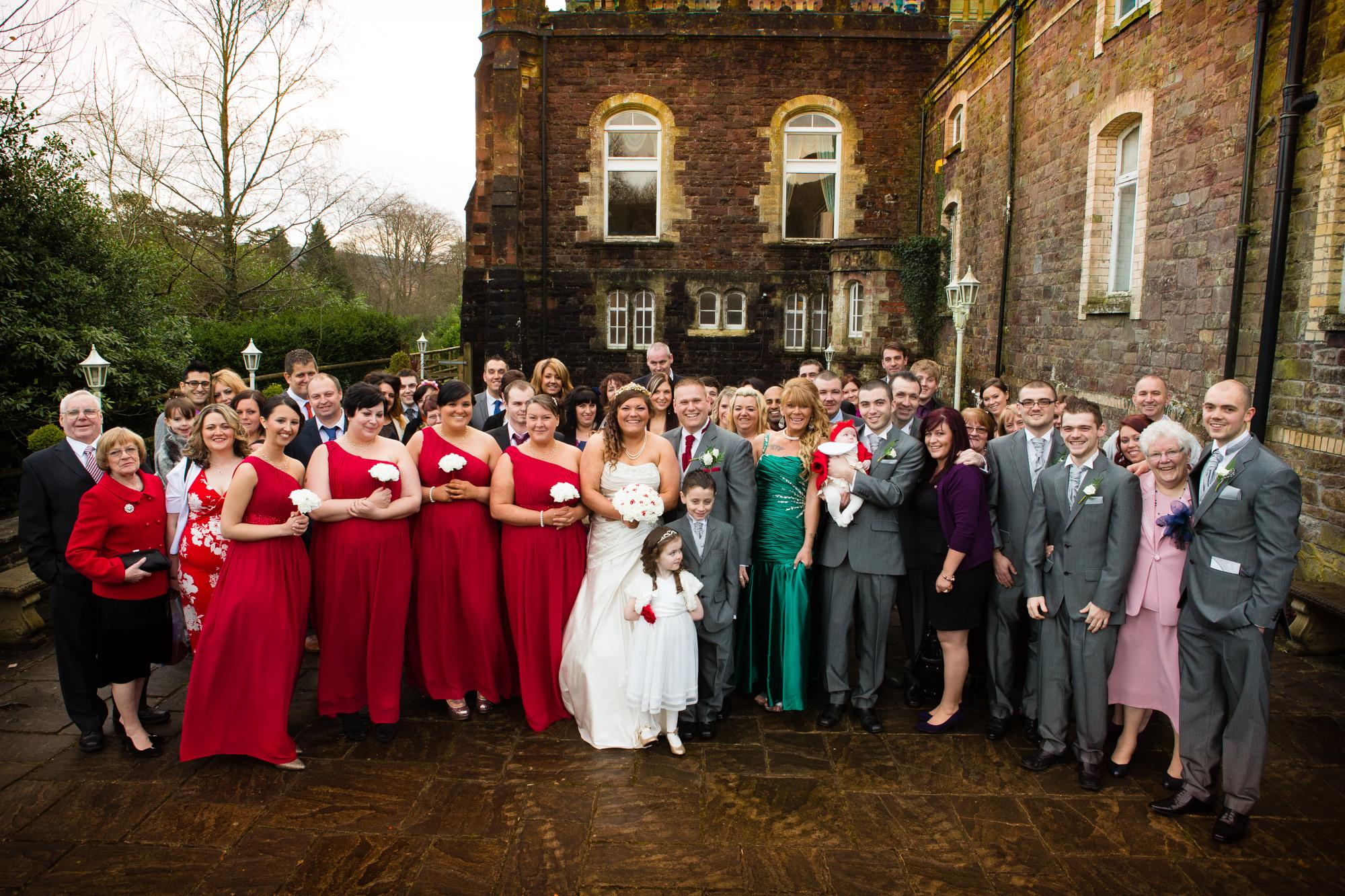 South Wales Wedding Photograher at Craig Y Nos Castle (20)