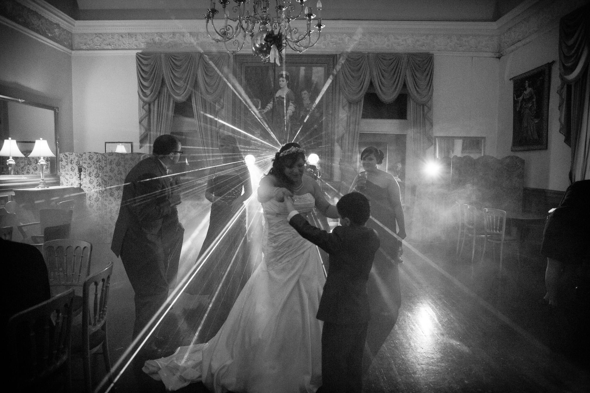 South Wales Wedding Photograher at Craig Y Nos Castle (51)