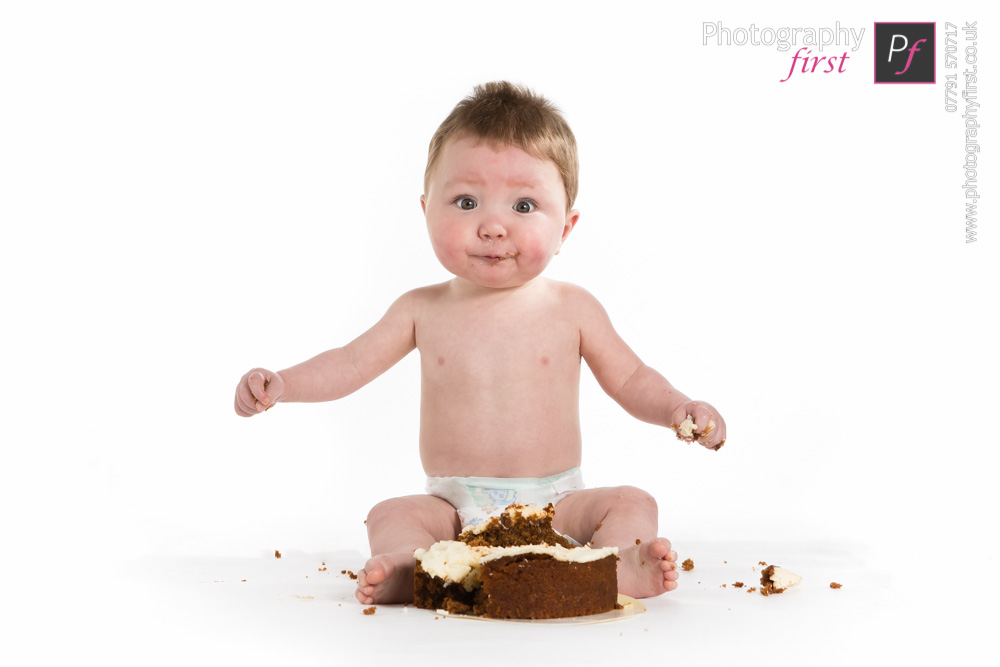 Baby Cake Smash Photography Photography First South Wales