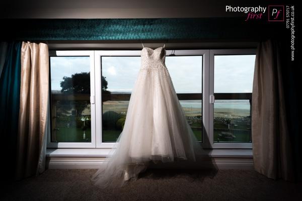 Wedding Dress Oxwich Bay