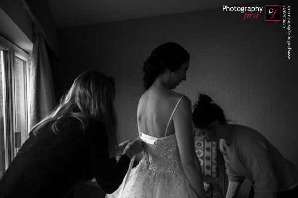 Bridal Prep Gower Wedding