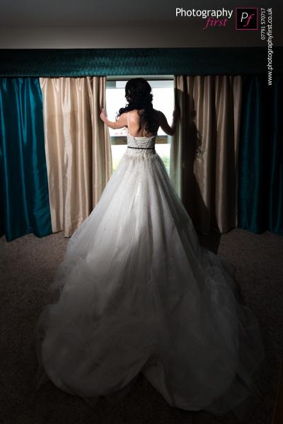 Bridal Portrait Wedding Gower