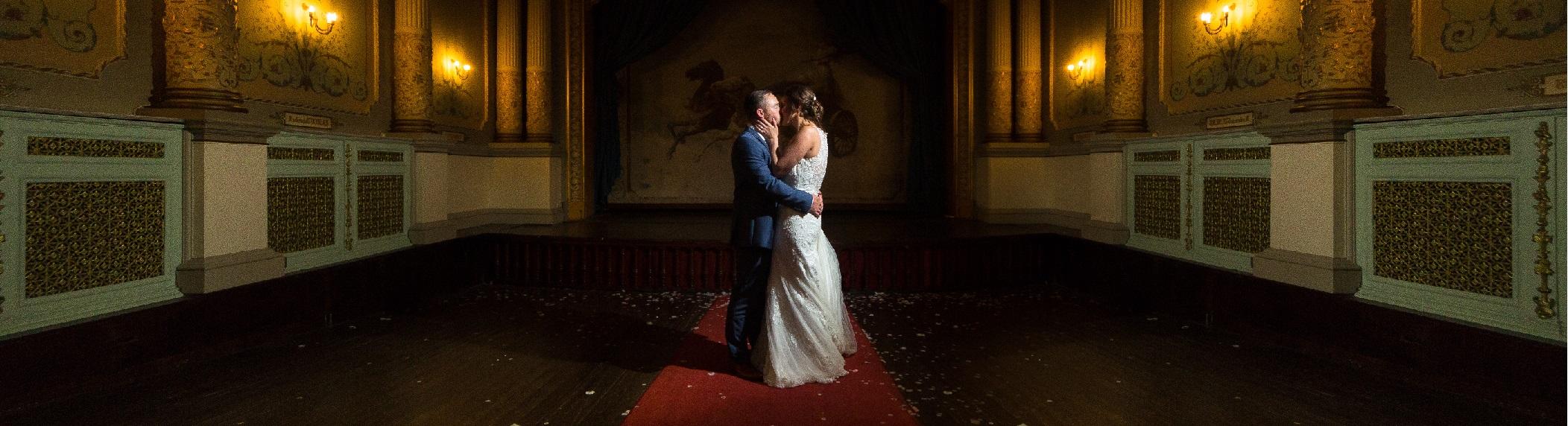Sarann and Paul's Wedding | Craig Y Nos Castle, Brecon
