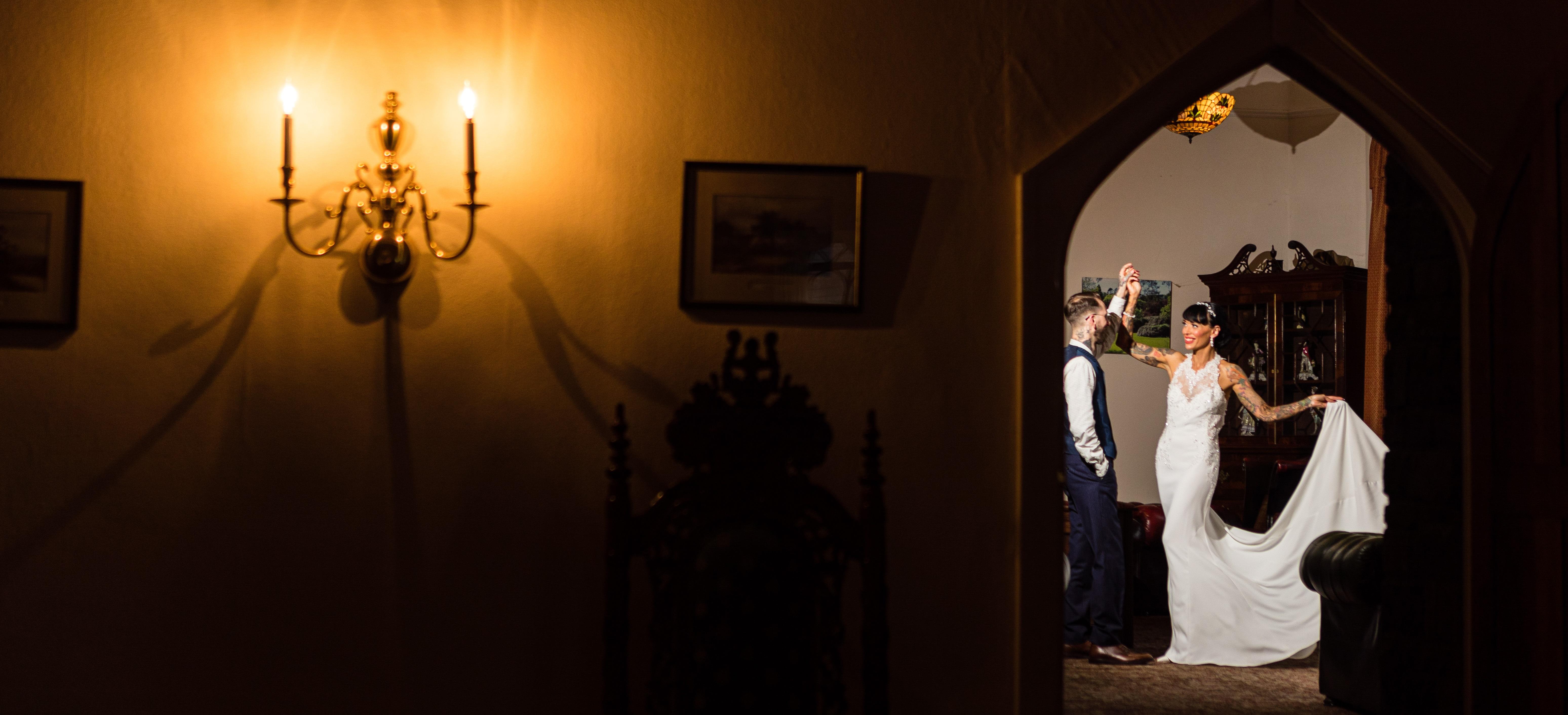 Abbi and Morgan's Wedding   Craig Y Nos Castle, Brecon